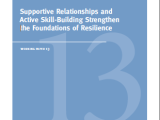 New Paper on the Foundations of Resiliency Among Children